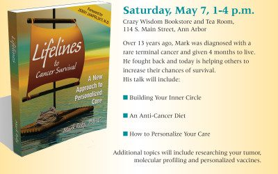 Surviving Cancer Book Signing – May 7th